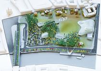 «Интерпретация тундры»: в Зарядье на месте гостиницы «Россия» заложили парк