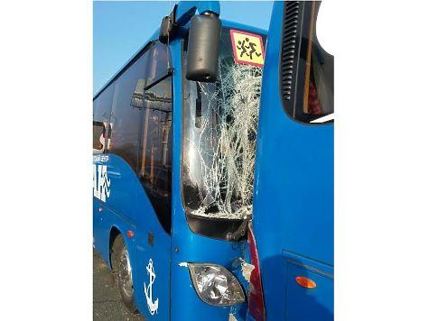 Семь детей излагеря «Океан» пострадали встолкновении 5-ти автобусов воВладивостоке