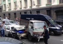 Одна авария, пять административных дел