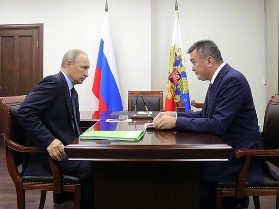 На острове Русском встретились глава России и глава Приморья